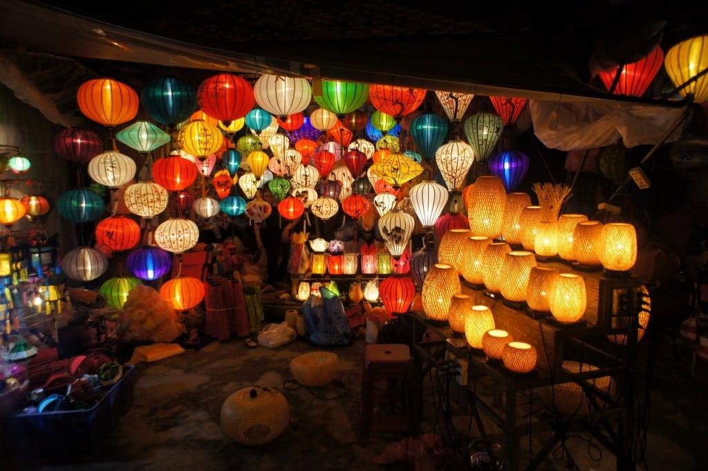 Lampen in der Altstadt