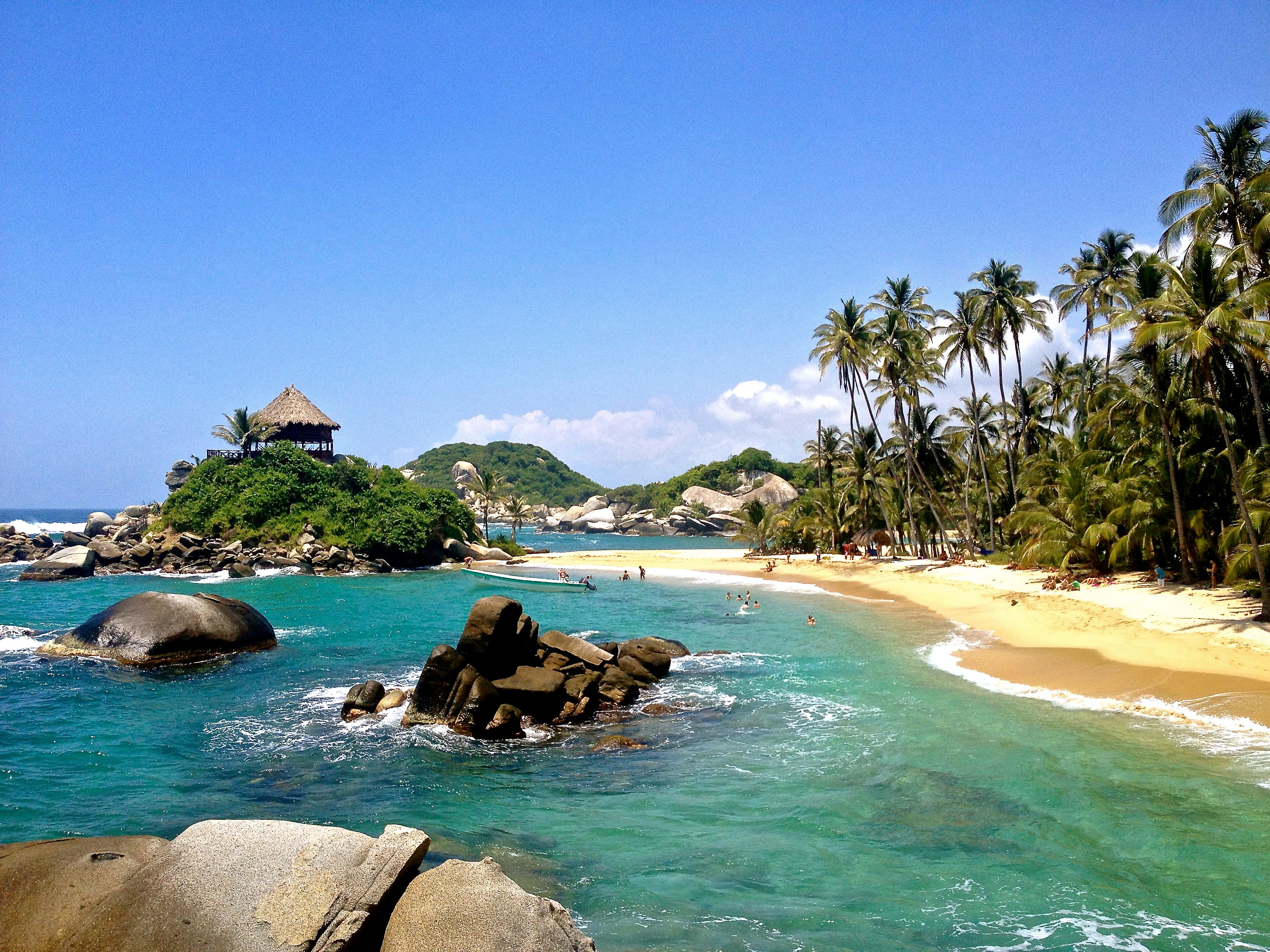 Colombia Santa Marta Tayrona Lost City | Love 2 Fly