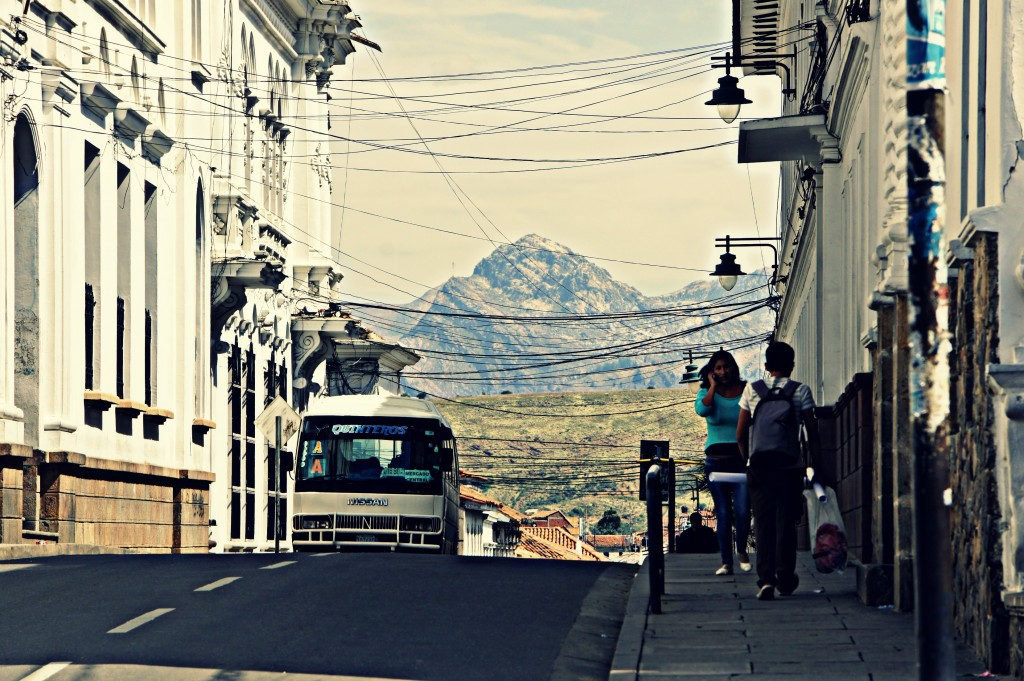 Street in Sucre