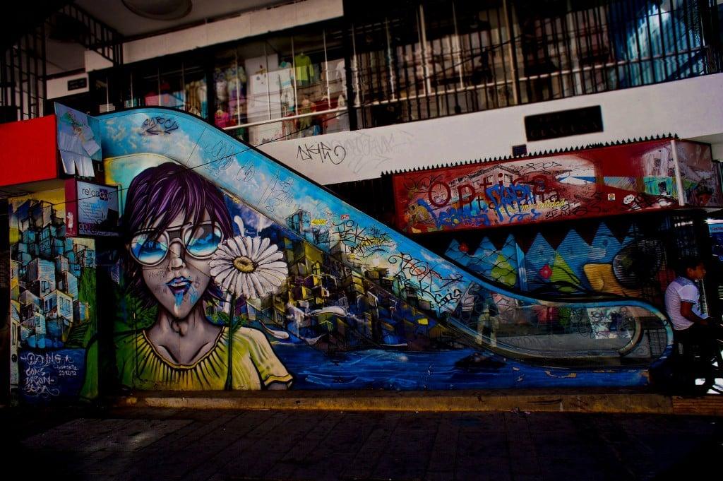 Escalator Graffiti