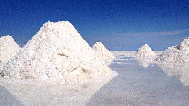 Salt in Uyuni