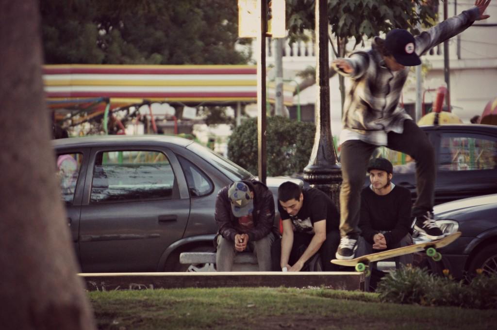 Skater in Valparaiso