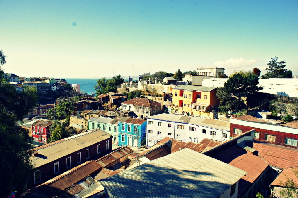 Rooftops Valparaiso