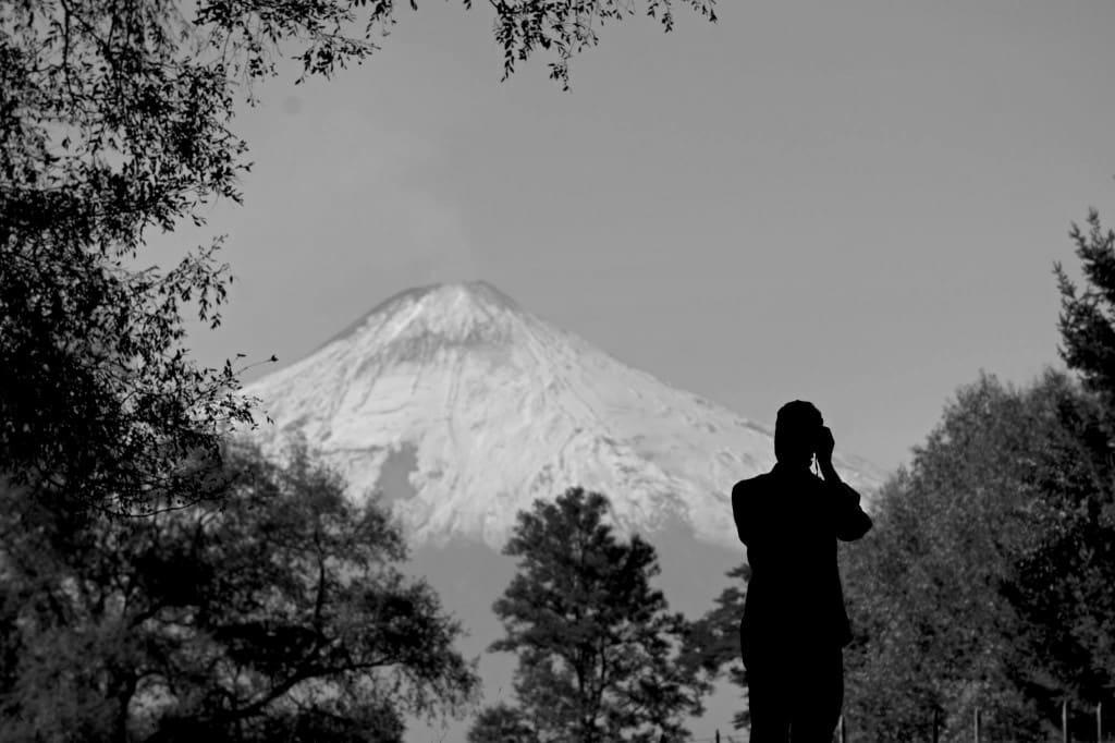Volcano Villarica