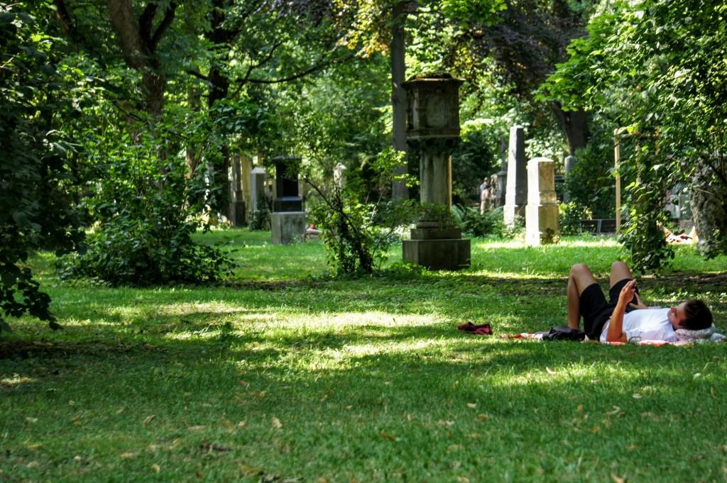 Der Alte Nordfriedhof dient heute als Parkanlage