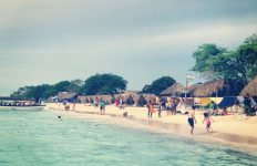 Playa Blanca on Isla Baru