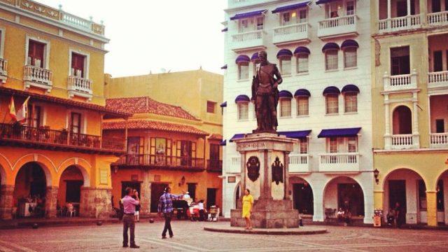 colonial buildings historic city centre