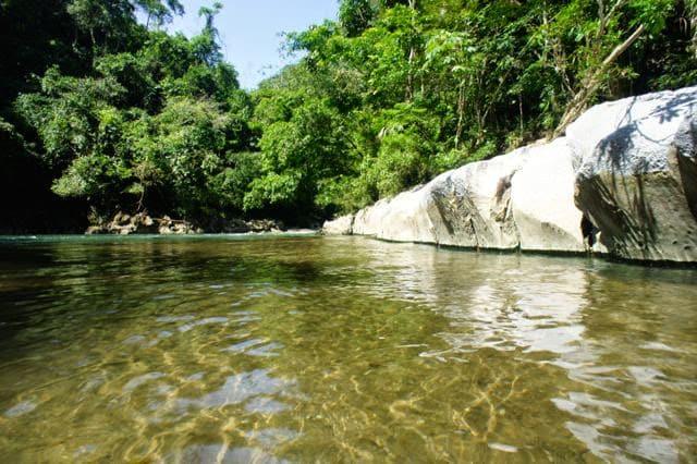 Beu eurer Reise geht es auch zum Rio Claro