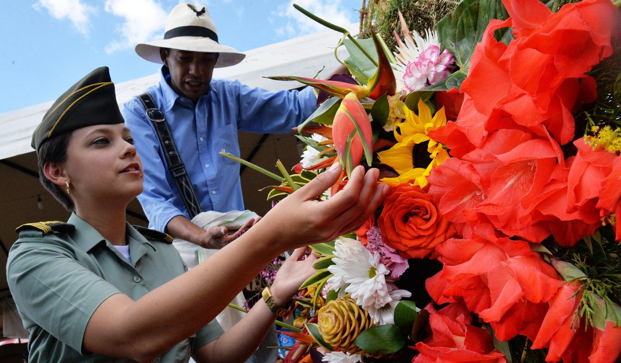 Feria de las Flores in Medellin, Colombia
