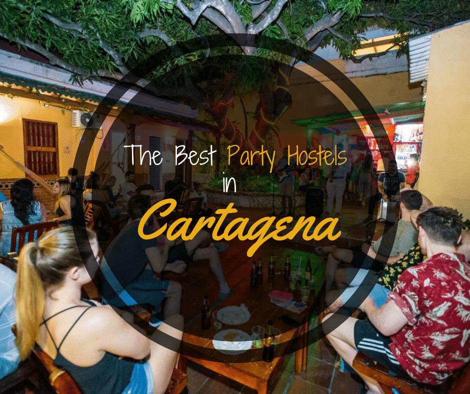 Best Party Hostels Cartagena